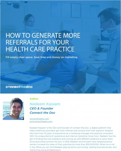Download our free eBook on how to grow your practice.